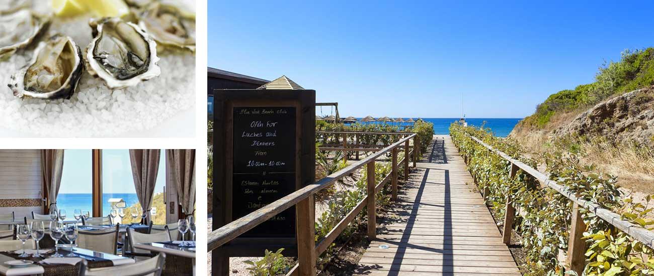 Cabanas Beach Restaurant and Bar, Burgau, Lagos, Algarve, Portugal